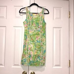 Lilly Pulitzer Womens floral green summer Dress 2